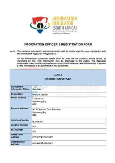 Information Officers Registration